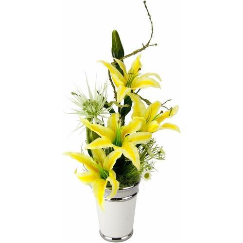 Kunstpflanze »Arrangement Lilien in Topf« Lilien, I.GE.A., Höhe 54 cm