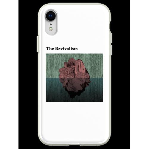 Holzherzen Flexible Hülle für iPhone XR