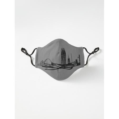 Skyline Duisburg Maske