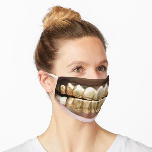Paul Wall Grill Rapper Maske