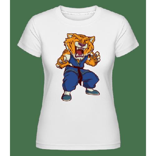 Tiger Kungfu - Shirtinator Frauen T-Shirt