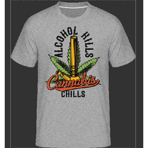Canabis Chills - Shirtinator Männer T-Shirt