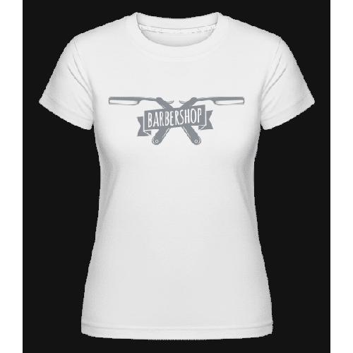 Barbershop Logo - Shirtinator Frauen T-Shirt