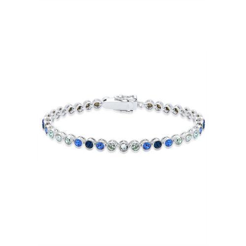 Elli Armband »Mehrfarbig Kristall 925 Sterling Silber«