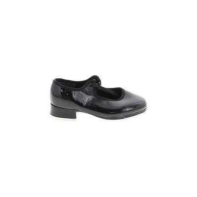 Dance Now Dance Shoes: Black Solid Shoes - Size 7 1/2