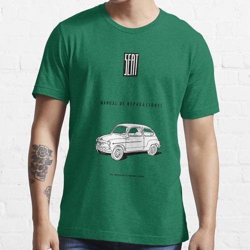SEAT 600 REPARATURANLEITUNG Essential T-Shirt