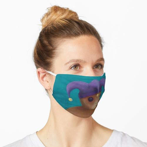 Ein fester Narr Maske