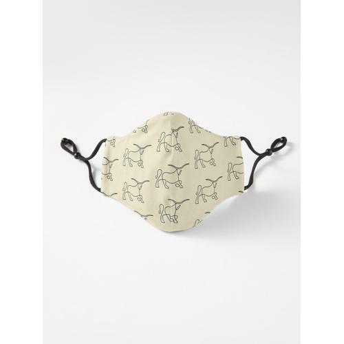 Longhorn Maske