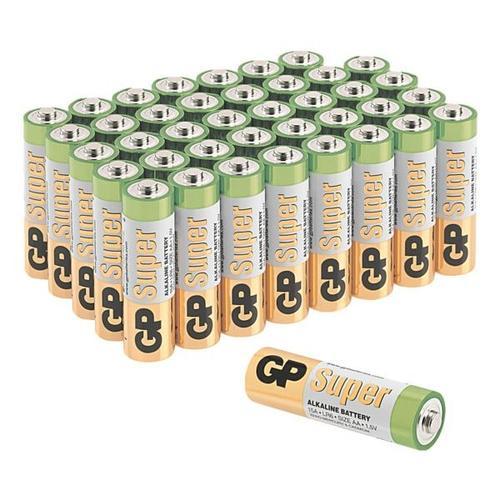 40er-Pack Batterien »Super Alkaline« Mignon / AA / LR06, GP Batteries