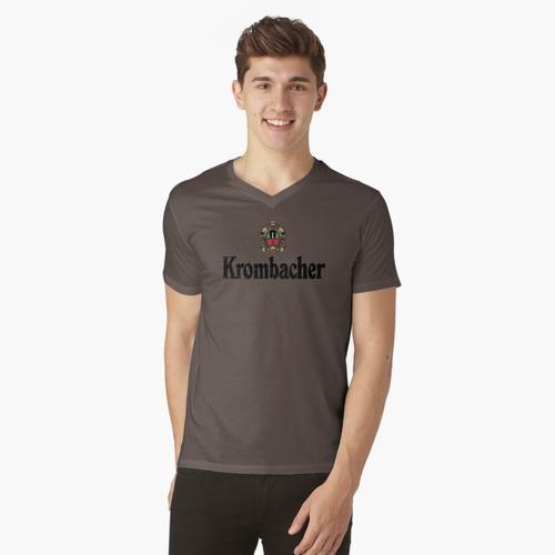 Krombacher t-shirt:vneck