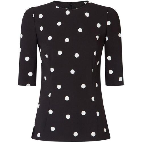 Dolce & Gabbana Gepunktetes T-Shirt
