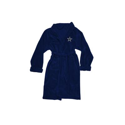 Men's Big & Tall Dallas Cowboys Bathrobe by Northwest Group in Multi (Size L/XL)