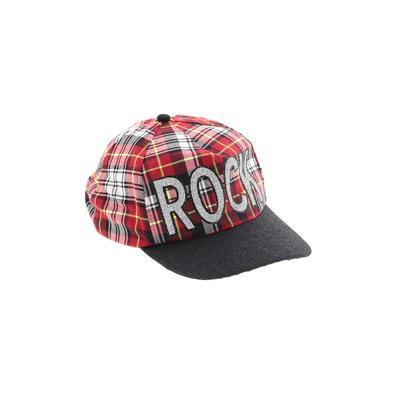 Justice Baseball Cap: Red Plaid ...