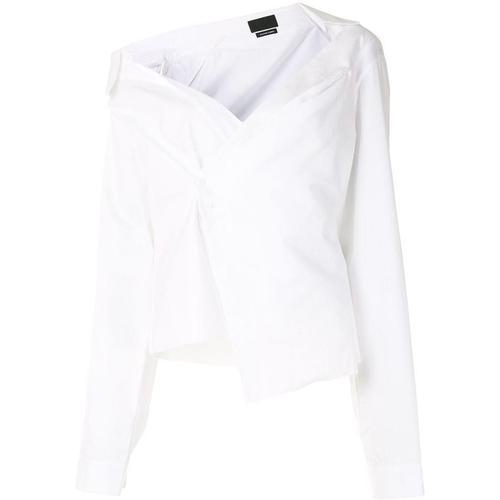 RTA Schulterfreies Hemd