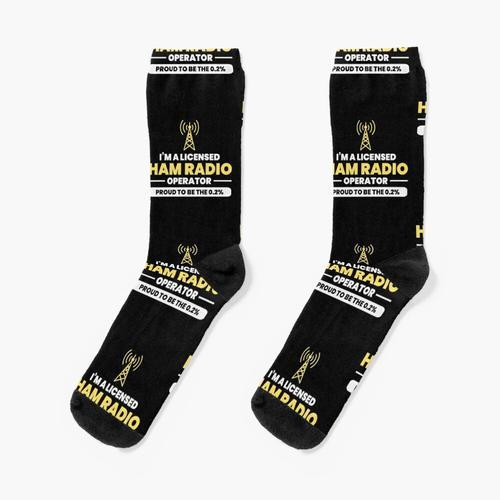 Amateur Amateurfunk Opa Vatertagsgeschenk Socken
