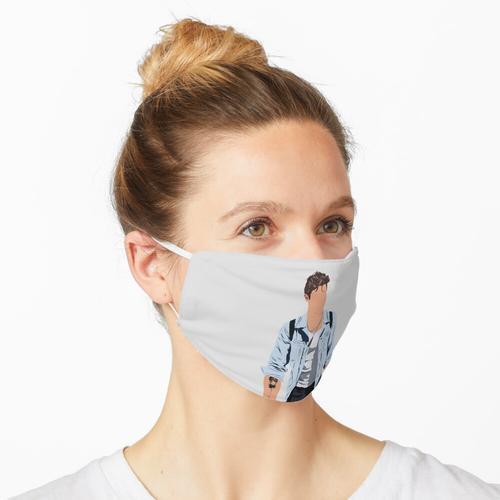 Shawn Mendes Jeansjacke Maske