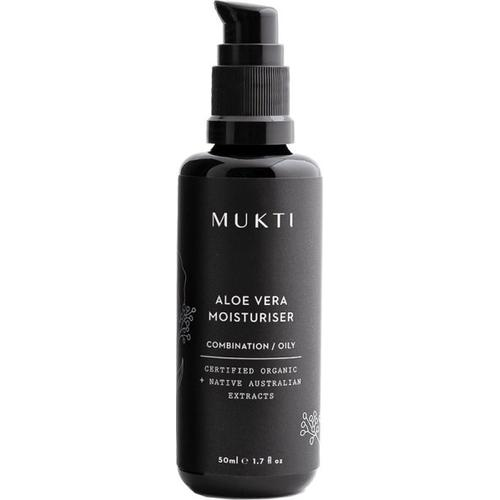 Mukti Organics Face Care Aloe Vera Moisturiser 50 ml Gesichtsgel