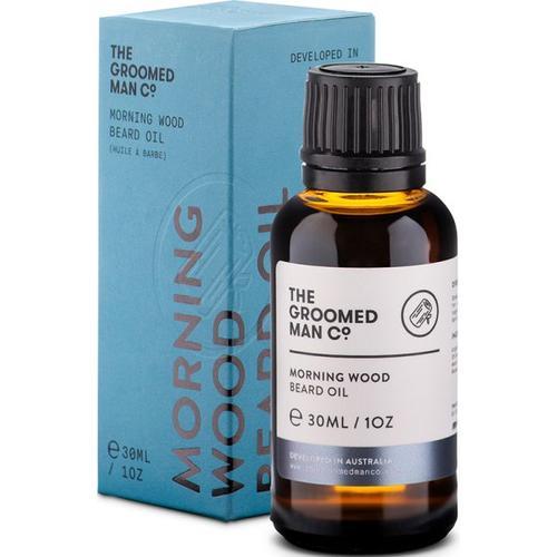 The Groomed Man Morning Wood Beard Oil 30 ml Bartöl