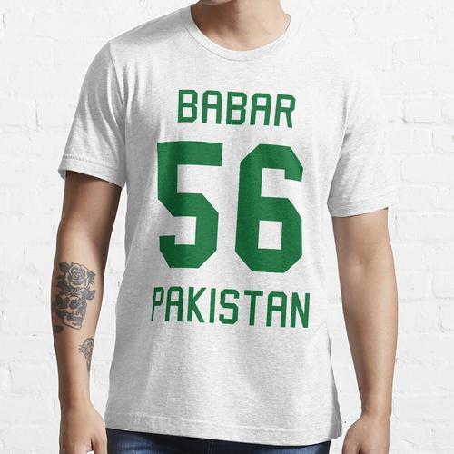 Babar Azam   56   Pakistan Cricket Trikot Essential T-Shirt
