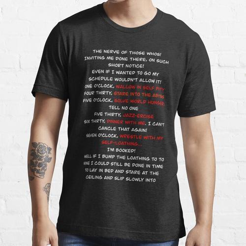 Grinch Grinch Schedule Song Essential T-Shirt