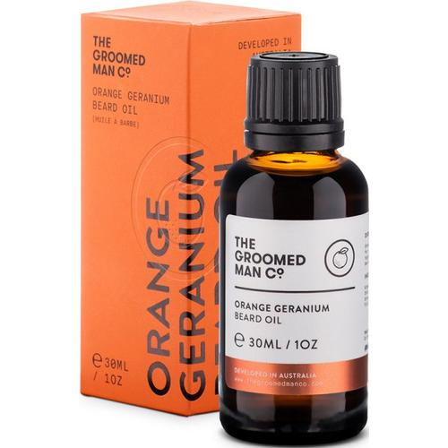 The Groomed Man Orange Geranium Beard Oil 30 ml Bartöl