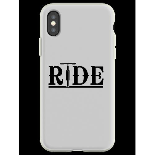 Fahräder fahren Flexible Hülle für iPhone XS