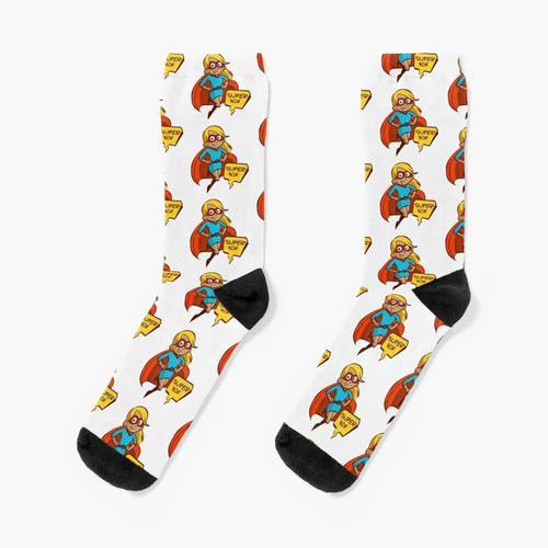 Super Mama ist da Socken