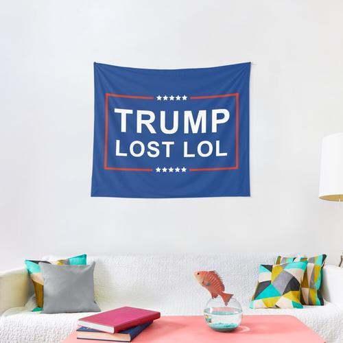 Trump Lost Lol Wall Tapestry