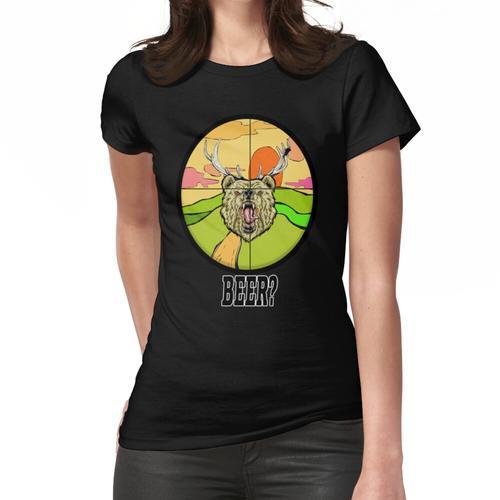 Lieber x Bär = Bier? Frauen T-Shirt