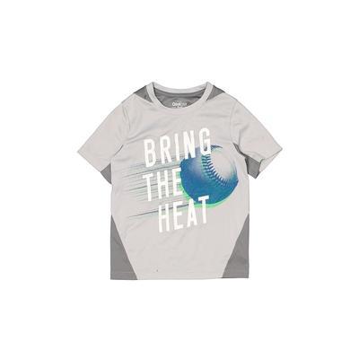OshKosh B'gosh Active T-Shirt: Gray Solid Sporting & Activewear - Size 6
