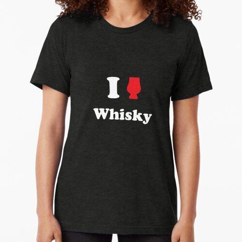 Ich liebe Whisky Vintage T-Shirt