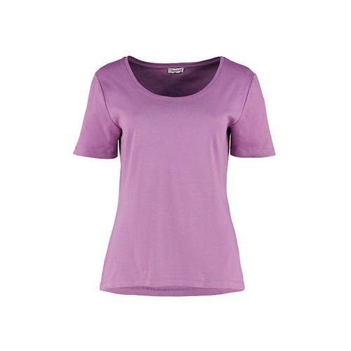 Deerberg Damen Jersey-Shirt Freida alpenveilchen