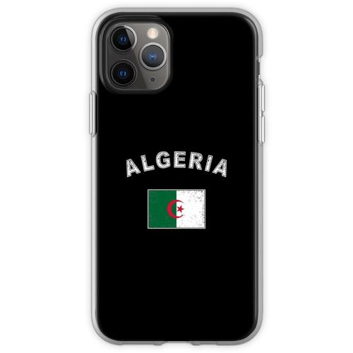 Algerien algerisch Flagge Fahne Flexible Hülle für iPhone 11 Pro