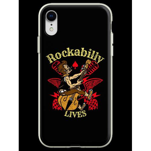 Rockabilly Rockabillystyle Rockabilly Lives Rockabilly Shirt Flexible Hülle für iPhone XR