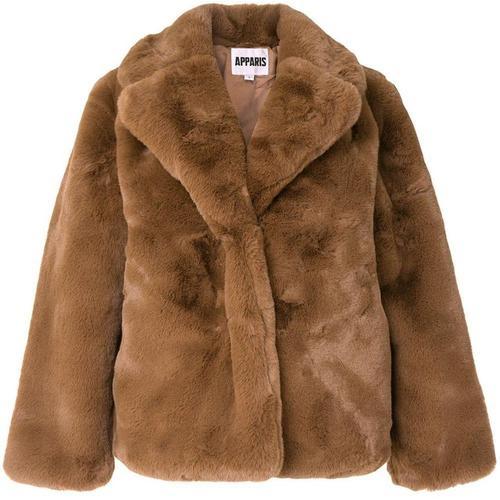 Apparis 'Manson' Mantel mit Faux Fur