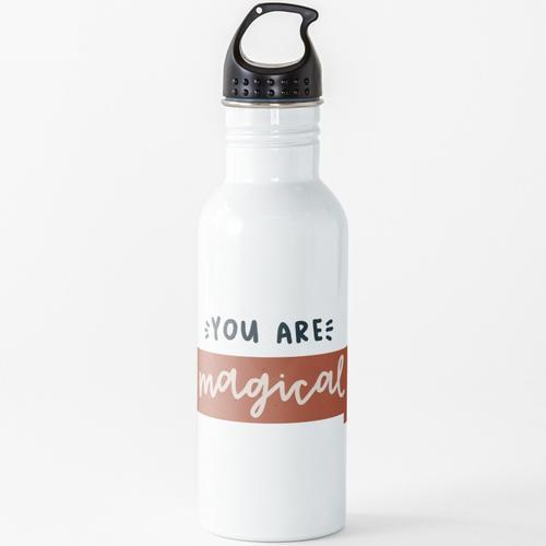 du bist magisch Wasserflasche