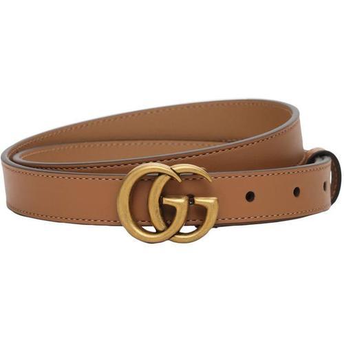 Gucci 2cm Breiter Ledergürtel
