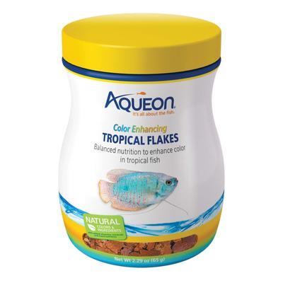 Aqueon Color Enhancing Tropical Flakes, 2.29 oz.