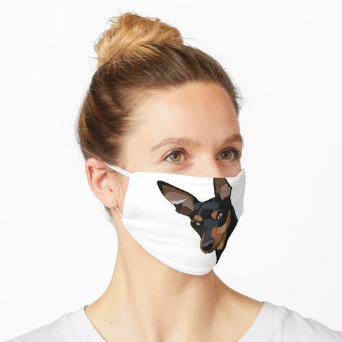 Zwergpinscher Maske