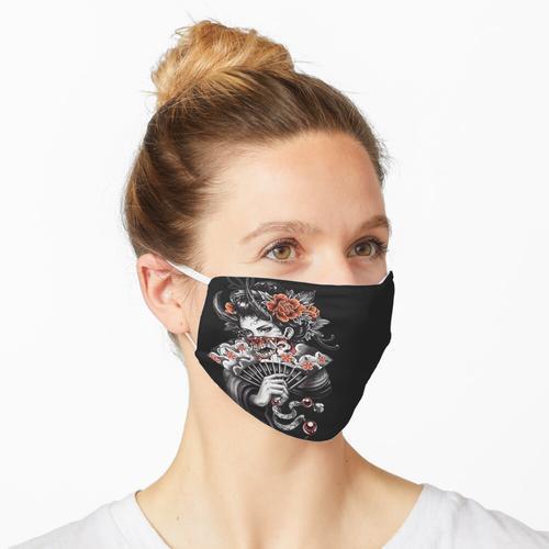 Geisha Hanya Maske Maske