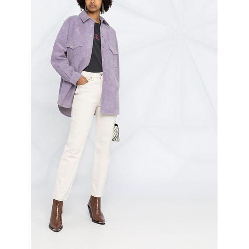 IRO Hemdjacke aus Leder