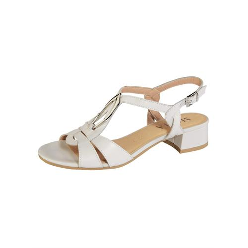 Sandale MONA Creme-Weiß