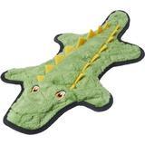 Frisco Flat Plush Squeaking Alligator Dog Toy, Large