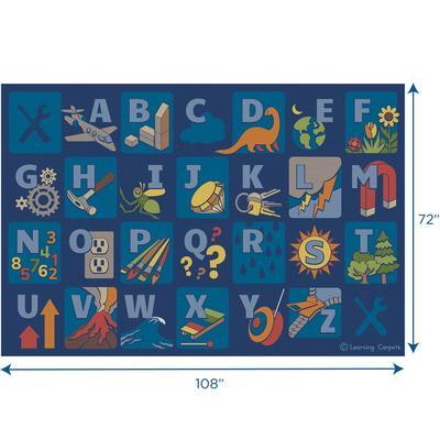 Steam Alphabet - Rectangle Small - Children's Factory CPR3051