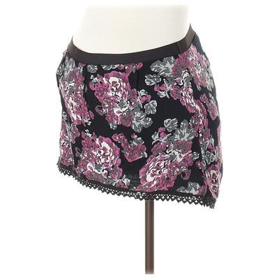 Seraphine Casual Skirt: Black Pr...