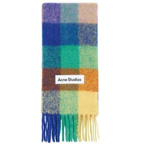 Acne Karierter Schal