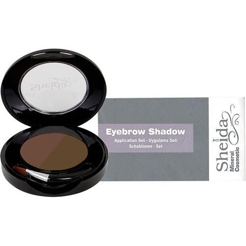 Set - Sheida Eyebrow Shadow (2) 4,5 g + Schablonen Augenbrauenpuder