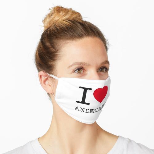 I LOVE ANDERLECHT Maske