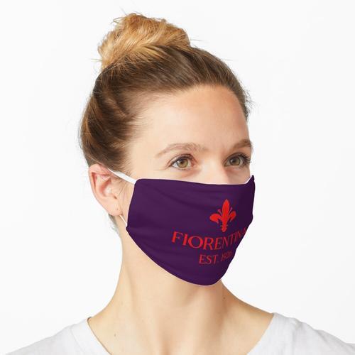 Fiorentina Rot Maske