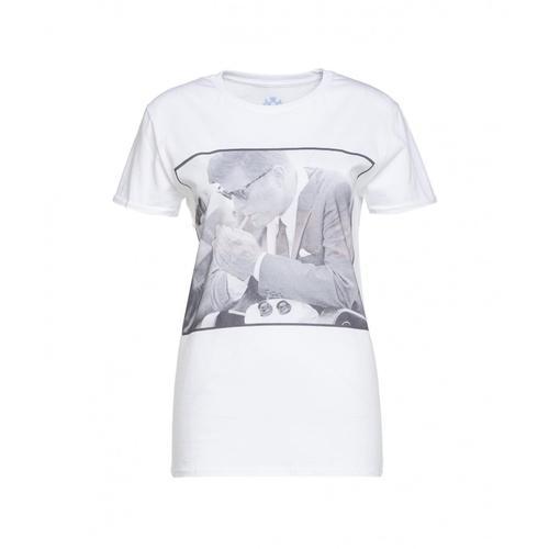 Elite 55 Herren T-Shirt Cigarette Weiß